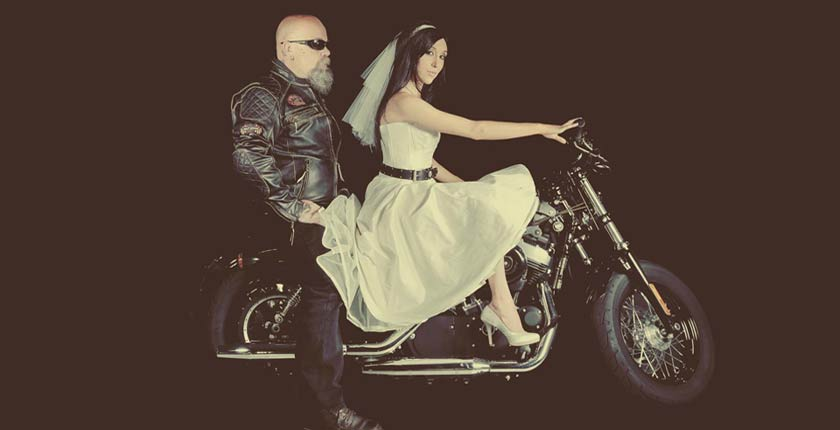 Harley Davidson wedding inspiration - Caroline Arthur Bespoke ...