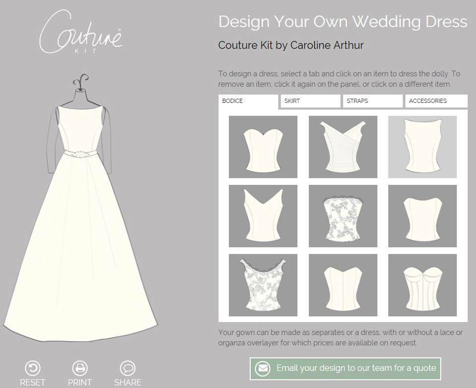 Real bride elise in her bespoke jacquard wedding dress Wedding dress design app