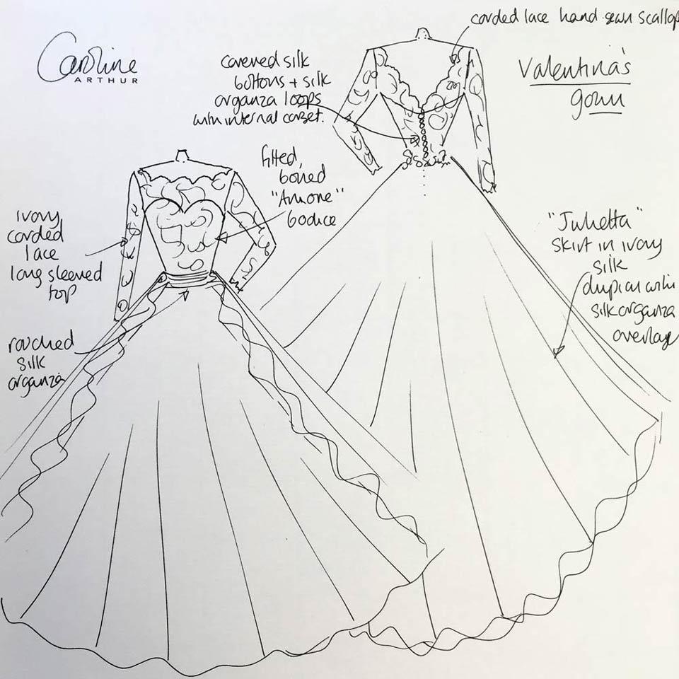 caroline_arthur_wedding_dress_sketch_blog
