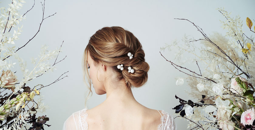 Surrey Bridal Sparkle event at Caroline Arthur Bridal featuring Debbie Carlisle accessories.